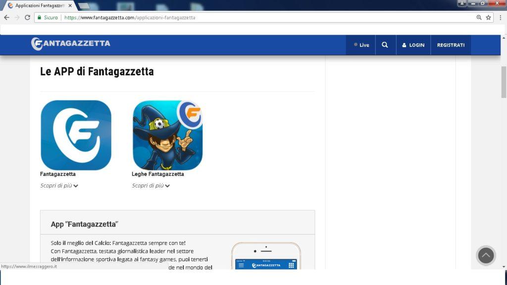 app fantagazzetta 1024x576 - Dove giocare a fantacalcio online
