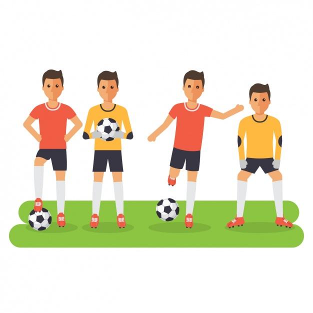 design giocatori di calcio 1214 228 - Le regole del Fantacalcio