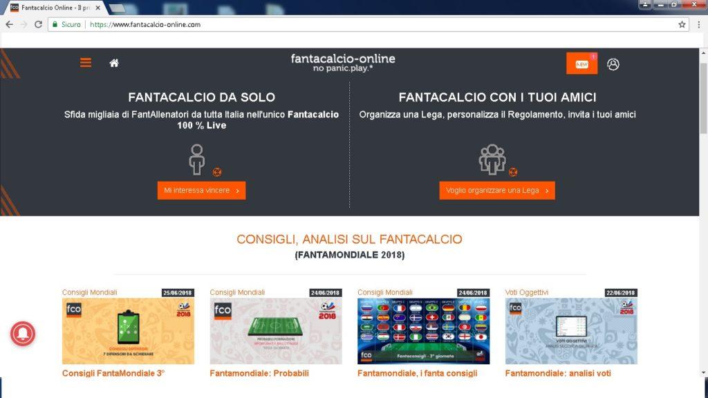 fantacalcio online 1024x576 - Dove giocare a fantacalcio online