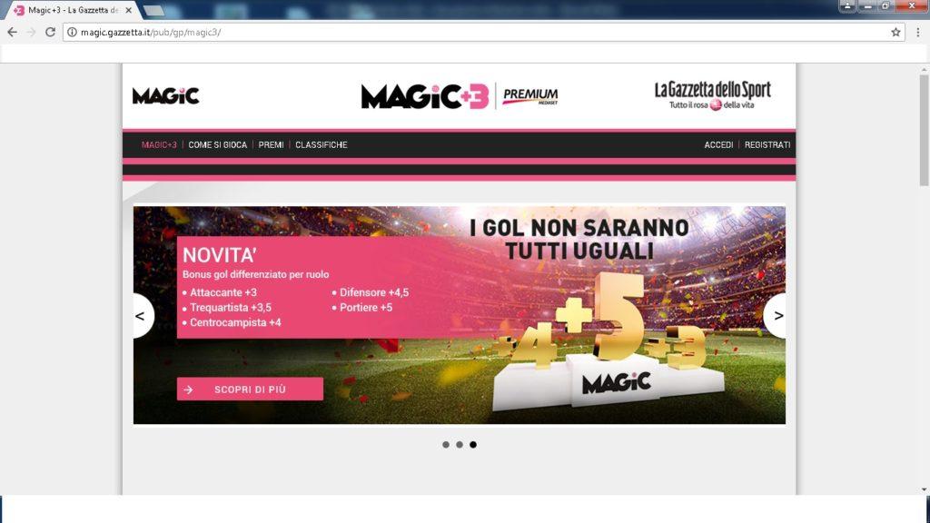 magic 3 1024x576 - Dove giocare a fantacalcio online