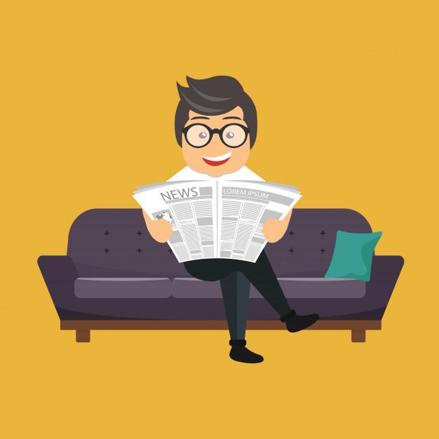 uomo che legge un giornale 1325 404 - Le regole del Fantacalcio