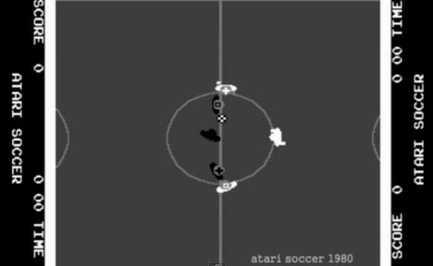 ATARI SOCCER - La storia dei Videogiochi sul Calcio