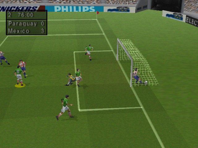 FIFA 98 - La storia dei Videogiochi sul Calcio