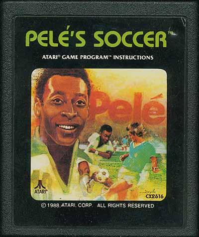 PELE COPERTINA - La storia dei Videogiochi sul Calcio