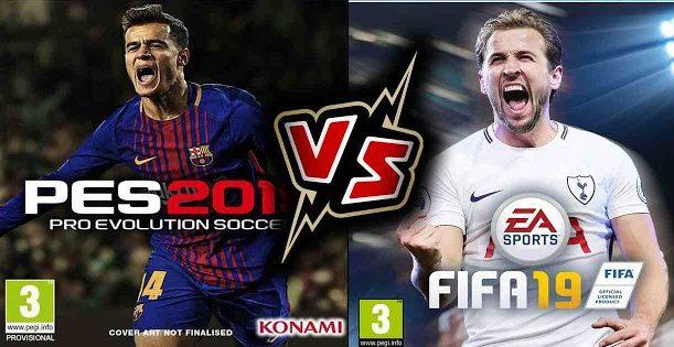 fifa 19 vs pes 2019 e1537699812400 - FIFA o PES 19: Quali sono le novità per conquistare i players in questa nuova stagione