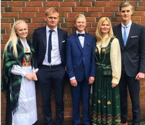 famiglia haaland - Erling Haaland il nuovo fenomeno